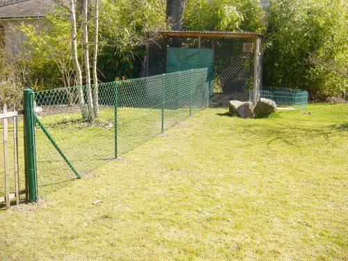 Pose de clôture et portail
