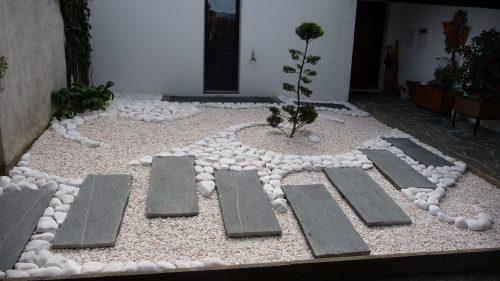 Aménagement d'un patio