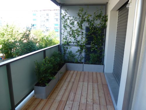 Aménagement d'un balcon